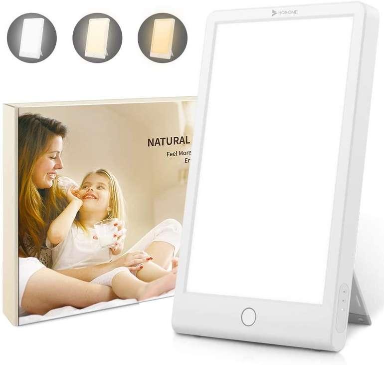 Hosome Tageslichtlampe (10000 Lux, 3 Lichtfarben) für 19,99€ inkl. Versand (statt 37€)