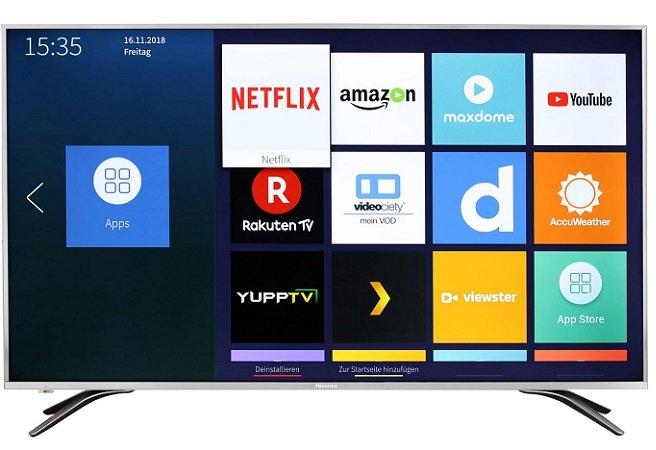 """Hisense H50AE6400 - 50"""" UHD 4K Smart TV für 399€ inkl. VSK (statt 455€)"""