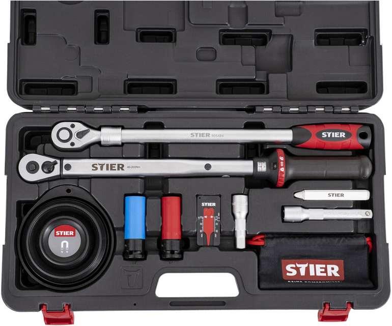Stier Rad-Montage-Set 1/2 Zoll 40 - 200 Nm für 93,74€ inkl. Versand (statt 105€)