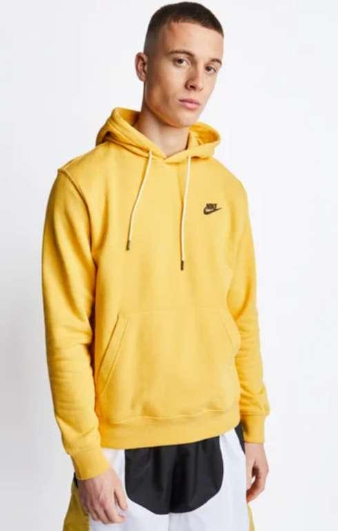 Nike Sportswear Herren Hoodies in Gelb oder Weiß für 29,99€inkl. Versand (statt 49€)