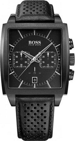 Hugo Boss HB1513357 Chronograph mit Lederarmband für 129€ (statt 258€)