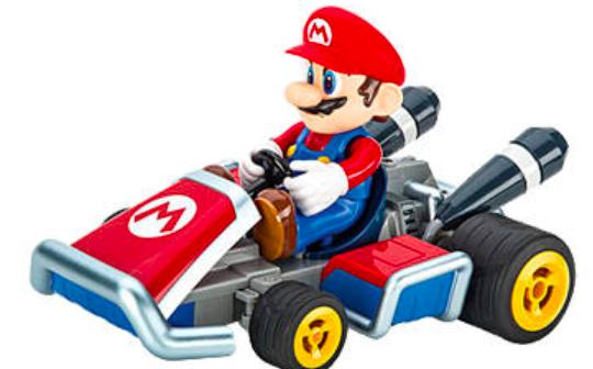 "Carrera RC-Fahrzeug ""Mario Kart 7 – Mario RTR"" für 49,99€ (Vergleich: 60€)"