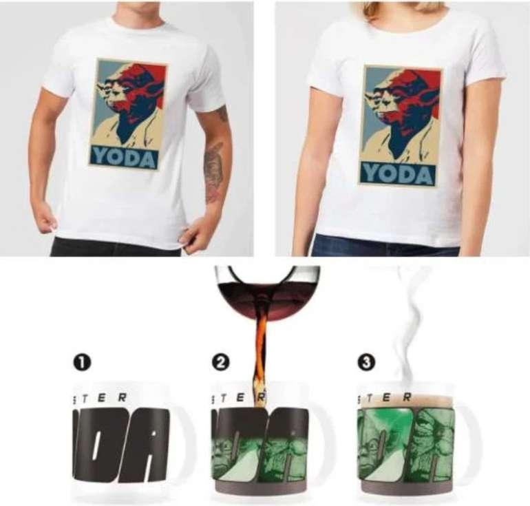 Star Wars T-Shirt (Damen, Herren oder Kids) + Thermoeffekt-Tasse (300 ml) für 15,98€ inkl. Versand (statt 30€)