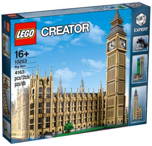 Lego Creator Big Ben (10253) nur 191,39€ inkl. Versand (statt 220€)