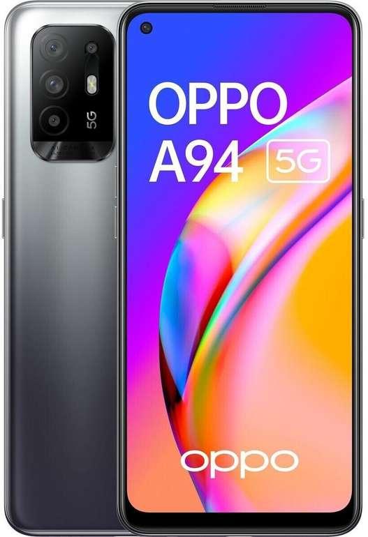 Oppo A94 5G mit 6,4 Zoll (Full HD, 128 GB/8 GB, Android 11, 4.310 mAh) für 239€ inkl. Versand (statt 327€)