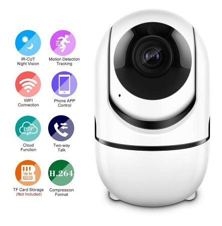 1080P Home Security WiFi M9M3 IP Kamera für 18,99€ inkl. Versand