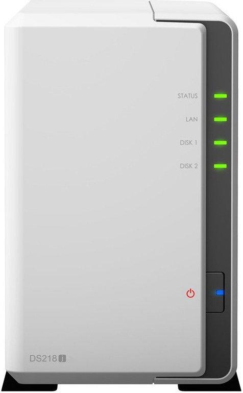 Synology DiskStation DS218j 2-Bay NAS mit 8TB (2x 4TB) für 299,90€ inkl. Versand