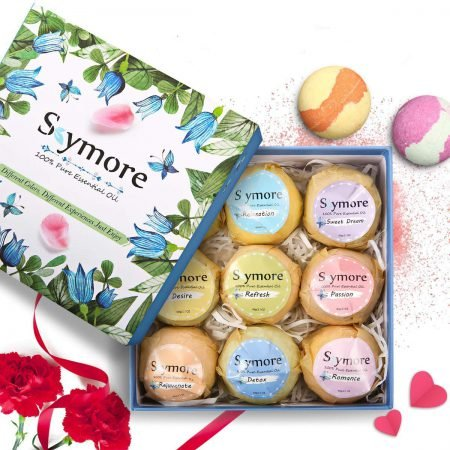 Skymore - 9 Badebomben aus ätherischen Ölen in Geschenkverpackung für 10,44€