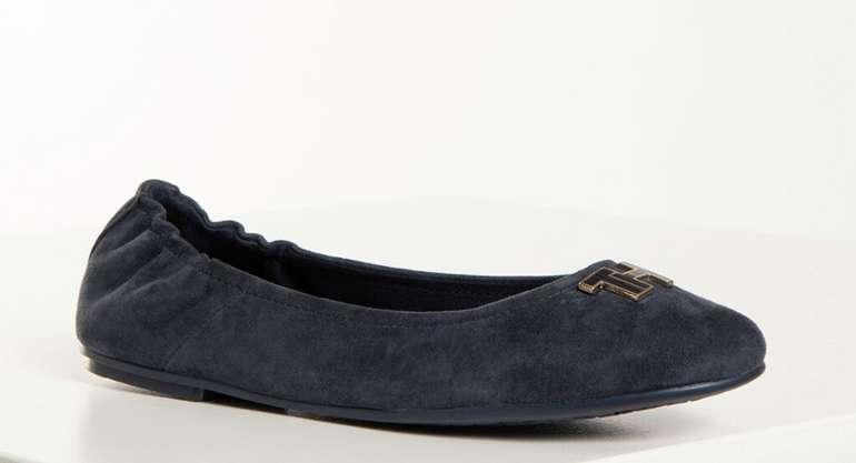 Tommy Hilfiger Shoes Ballerina in navy für 40,12€ inkl. Versand (statt 63€)