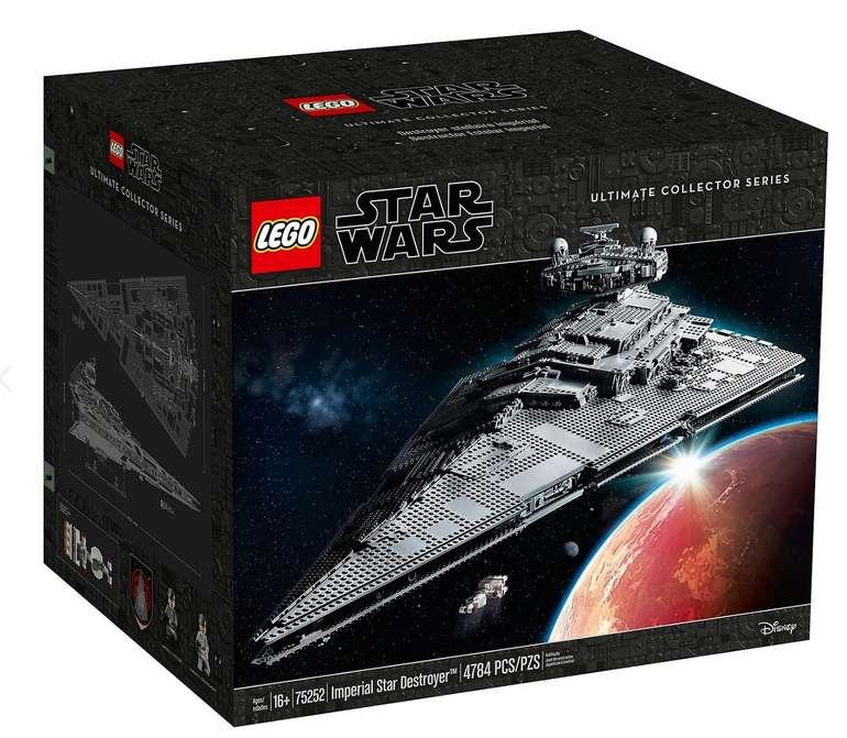 Imperialer Sternezerstörer Lego Star Wars (75252) für 584,34€ inkl. Versand (statt 649€)