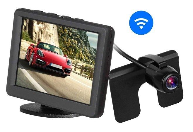 "AUTO-VOX 3.5"" LCD 2.4G Wireless Rückfahr-Kamerasystem für 41,99€ inkl. VSK"