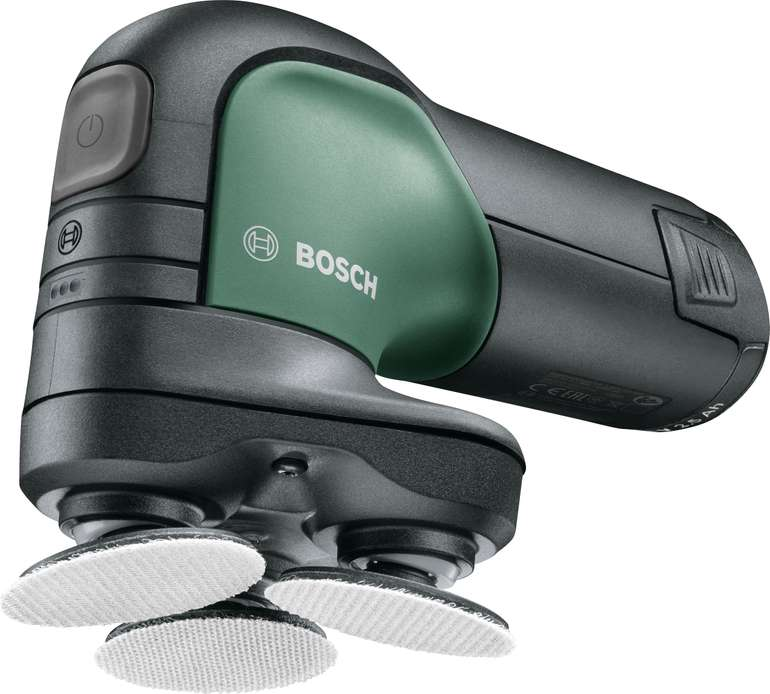 "Bosch Schleifer ""EasyCurv Sander"" (12 V, 2,5 Ah) + 1 Akku und Ladegerät für 58€inkl. Versand (statt 70€)"