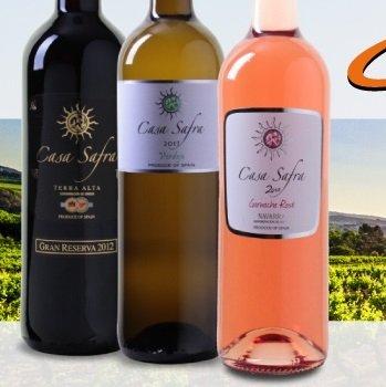 Casa Safra Sale bei Weinvorteil: Bis zu -60% Rabatt, z.B. Terra Alta DO 23,94€