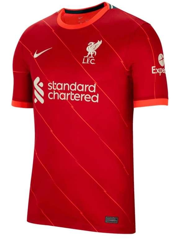 Nike Liverpool FC Herren Heim Trikot 2021/22 für 76,45€ inkl. Versand (statt 90€)