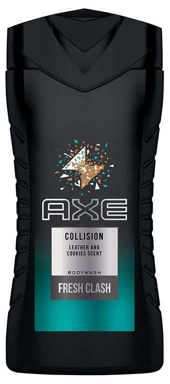 4er Pack Axe Duschgel Collision Leather und Cookies (250ml) für 4,08€ inkl. Prime Versand (statt 7€) - Spar-Abo