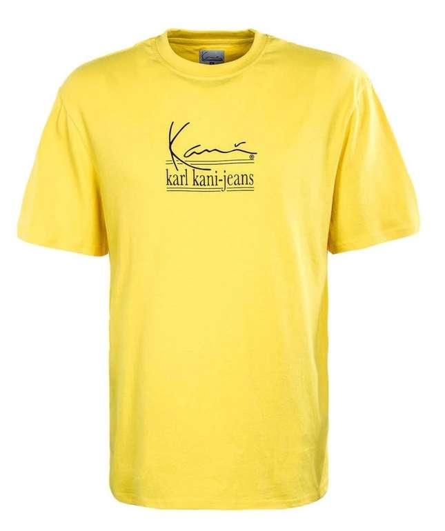 Karl Kani Herren T-Shirt mit Logo in Gelb für 14,99€ inkl. Versand (statt 30€)
