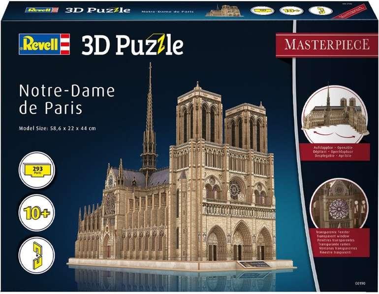 Revell 3D Puzzle 190 Kathedrale Notre-Dame de Paris für 35€ inkl. Versand (statt 50€)