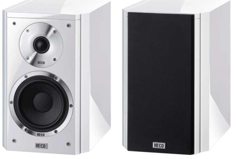 1 Paar Heco Aleva GT 202 Regallautsprecher (Passiv-Lautsprecher, Piano Weiß) für 303€