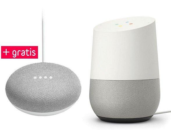 Google Home & Google Home Mini im Bundle für 89€ inkl. Versand (statt 120€)