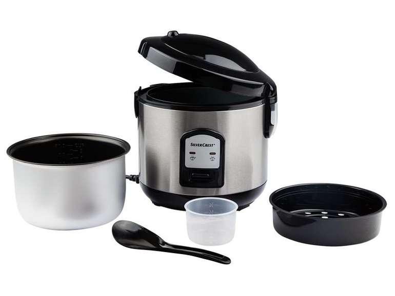 Silvercrest Reiskocher mit Dampfgareinsatz für 19,94€ inkl. Versand