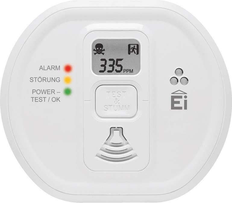Ei Electronics Ei208D Kohlenmonoxidmelder mit Display für 27,99€ inkl. Prime Versand (statt 37€)