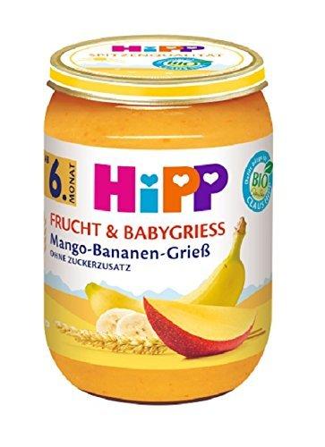 Amazon: 4 für 3 Lebensmittel Aktion – z.B. 24er Pack HiPP Mango-Bananen Grieß ab 16,65€ - Prime!