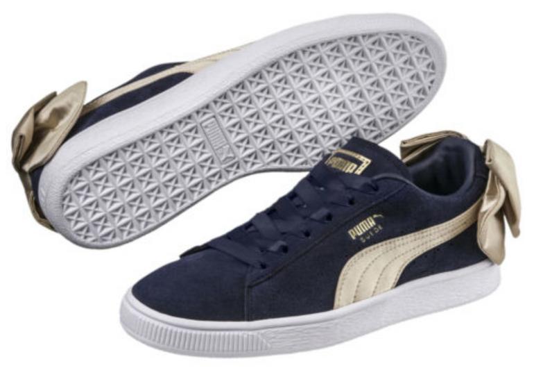"""Bestpreis! Puma Damen Sneaker """"Suede Bow Varsity"""" für 17€ (statt 39€) + 20% ab 2 Paar"""