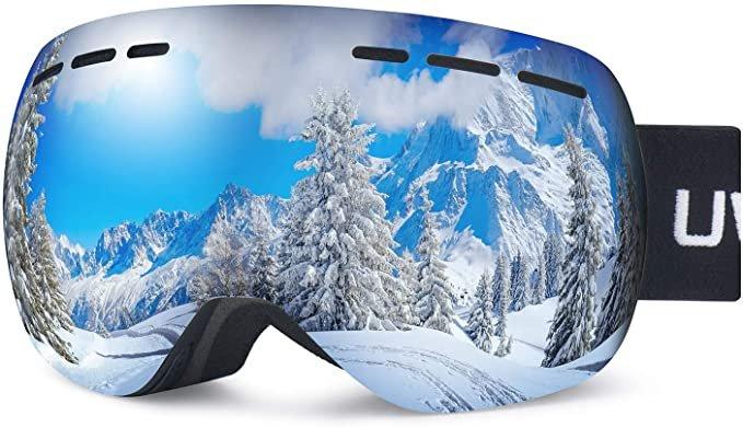 Uwyelect Skibrille mit UV-Schutz für 11,99€ inkl. Prime Versand (statt 24€)