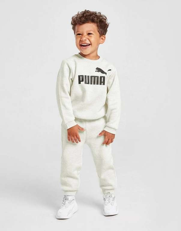 Puma Core Logo Crew Baby bzw. Kinder Trainingsanzug für 25,99€ inkl. Versand (statt 49€)
