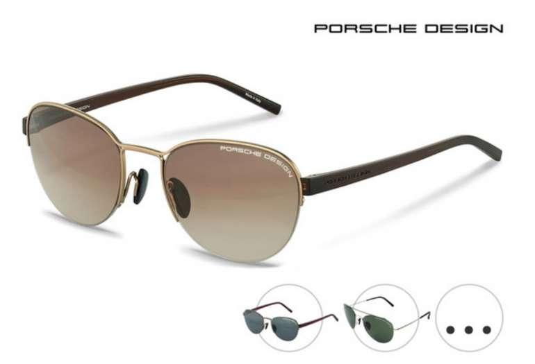 Porsche Design Sonnenbrillen (vers. Designs) zu je 80,90€inkl. Versand (statt 129€)