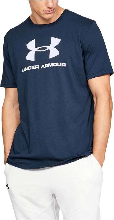 Under Armour Funktionsshirt Sportstyle Logo Shortsleeve je 11,83€ inkl. Versand (statt 22€)