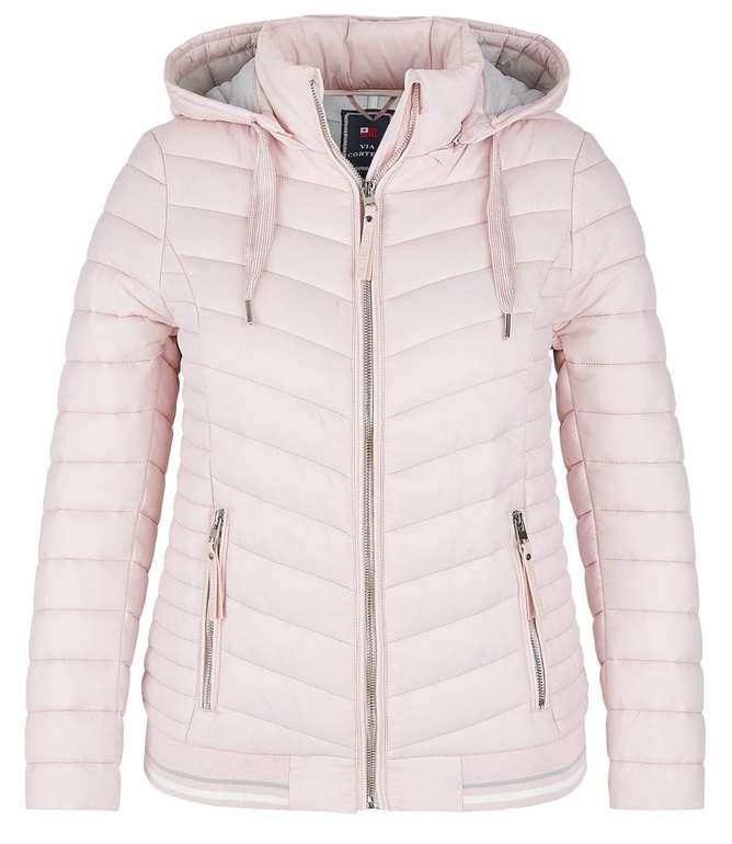 Adler Mode Sale mit bis zu -70% + 50% Extra Rabatt - z.B. Via Cortesa Steppjacke für 29,99€ (statt 70€)