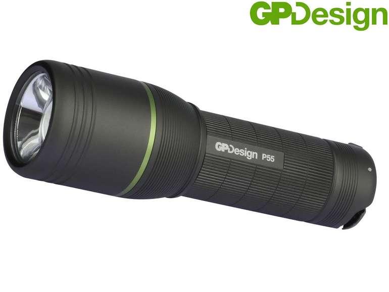 GP Design P55 Atlas LED-Taschenlampe mit 400 lm für 30,90€ inkl. Versand (statt 45€)
