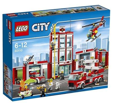 Lego  City Große Feuerwehrstation (60110) für 57€ inkl. VSK (statt 77€)