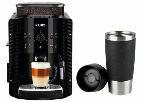 Krups EA8108 Kaffeevollautomat + EMSA Travel-Mug für 199,90€ (statt 225€)
