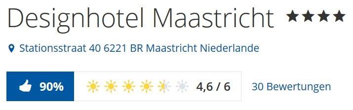 Designhotel Maastricht inkl. Frühstück 3