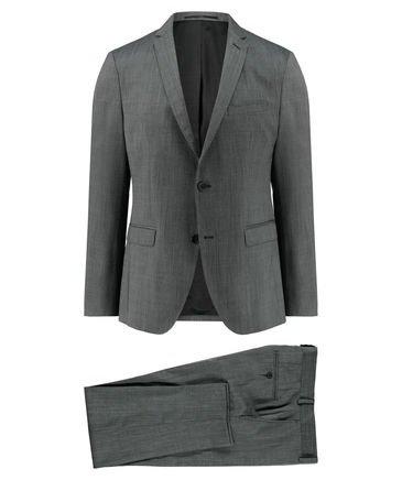"""s.Oliver Premium Herren Anzug """"Napoli"""" in Slim Fit und Grau nur 84,91€"""