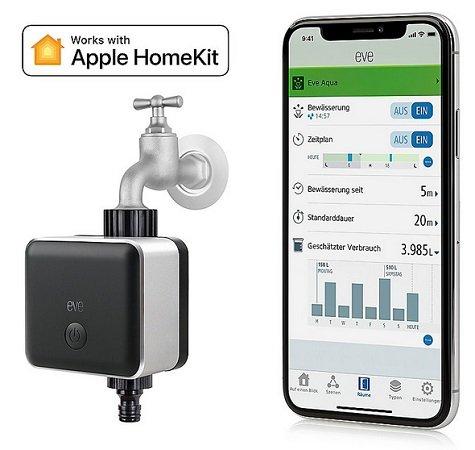 Elgato Eve Button + Eve Aqua Smarte HomeKit Bewässerungssteuerung für 79,90€ (statt 115€)