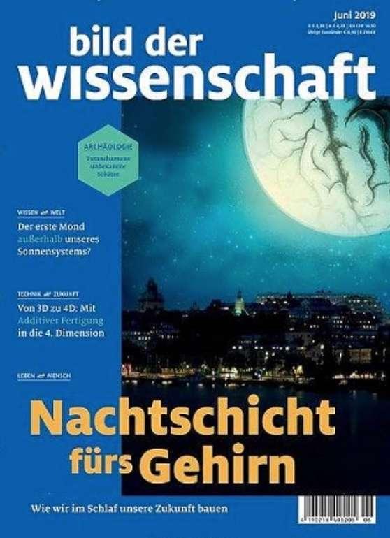 Bild der Wissenschaft Jahresabo für 109,49€ + z.B. 110€ Bestchoice-Gutschein