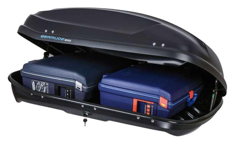 """Norauto Dachbox """"Bermude 200"""" in Anthrazit mit 375 Liter für 179,99€bei Abholung (statt 200€)"""