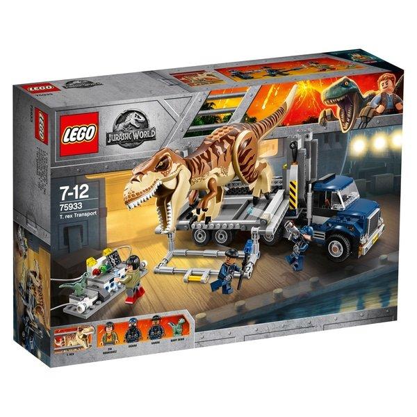 Lego Jurassic World - T. rex Transport (75933) für 54,99€ inkl. Versand (statt 78€)