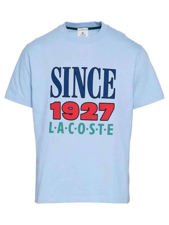 Lacoste T-Shirt in Hellblau für 29,95€ inkl. Versand (statt 74€)
