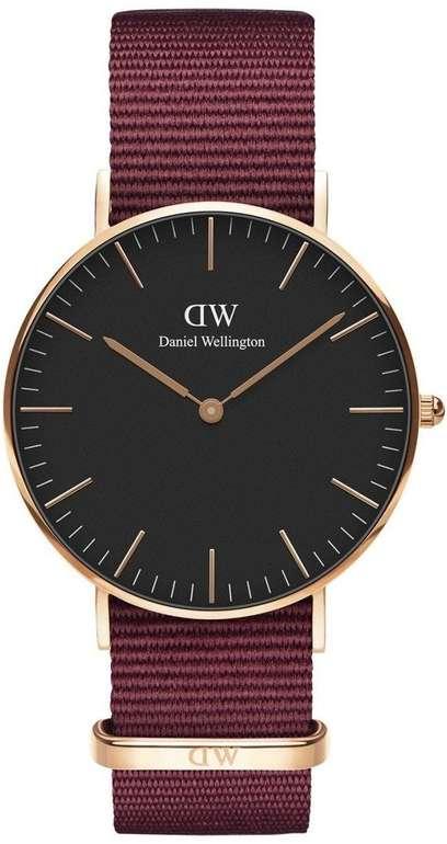 Daniel Wellington Classic Black Roselyn 36mm für 63,29€ (statt 87€)