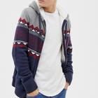 "Hollister Herren Strickjacke ""DTC Pattern Sherpa Hood"" für 58,99€ (statt 73€)"