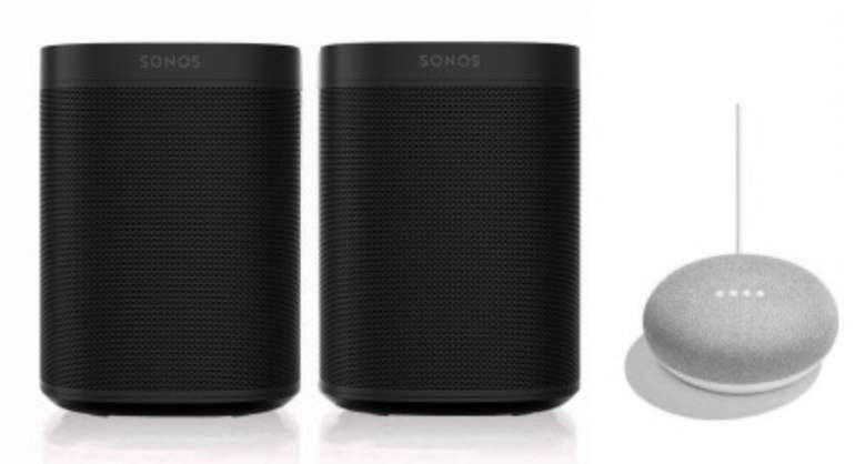 Tink Smart Week 2020 Angebote - z.B. Sonos One SL Stereo Set + Google Home Mini für 329,95€ (statt 386€)