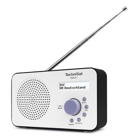 Saturn Sound-Woche, z.B. TECHNISAT VIOLA 2 Portables DAB+/UKW-Radio für 24,99€