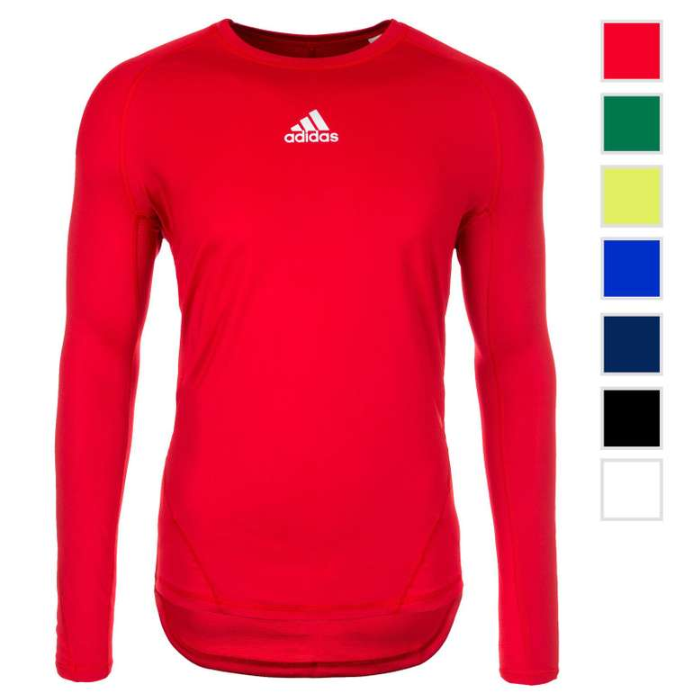 Adidas Performance Alphaskin Herren Longsleeves für je 19,95€ (statt 25€)