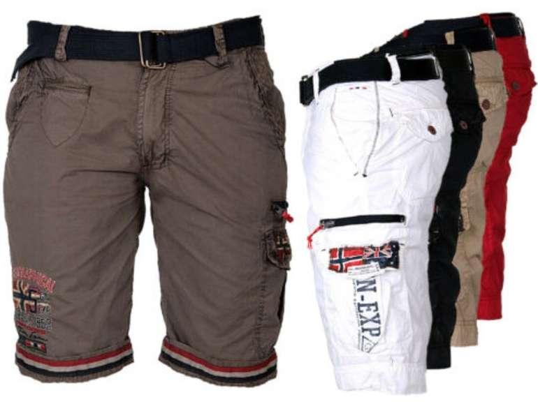 Geographical Norway Cargo Shorts für Herren nur 35,51€ inkl. Versand (statt 45€)