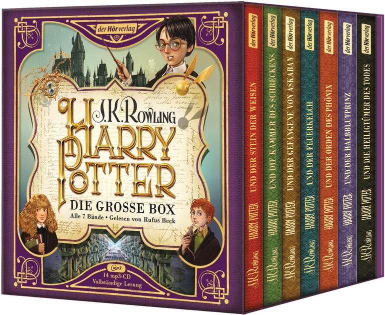 Harry Potter - Die große Box zum Jubiläum (Hörbuch, alle 7 Bände) für 43,25€ inkl. Versand