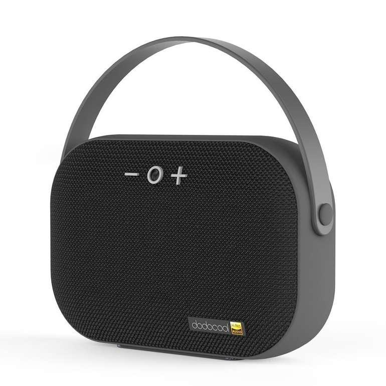 Dodocool - tragbarer Bluetooth Lautsprecher mit HD-Sound für 10€ inkl. Prime Versand